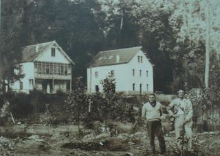 Entrada a Muniellos (Tablizas) hacia 1960